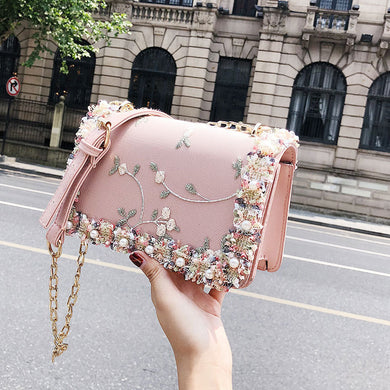 Women Flowers Crossbody Bags High Quality