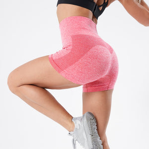 Push Up High Waist Fitness Shorts