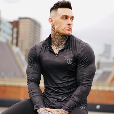 Camouflage Fitness T-shirt