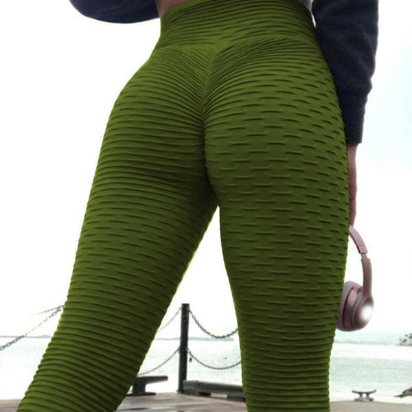 Female High Waist Yoga Tight Pants