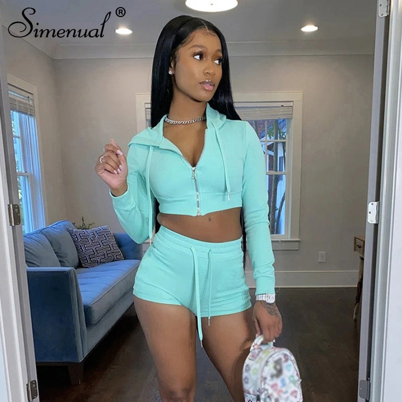Casual Workout Two Piece Set