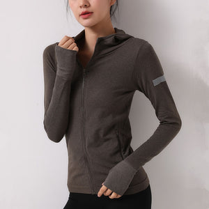 Thumb Hole Gym Running Jacket