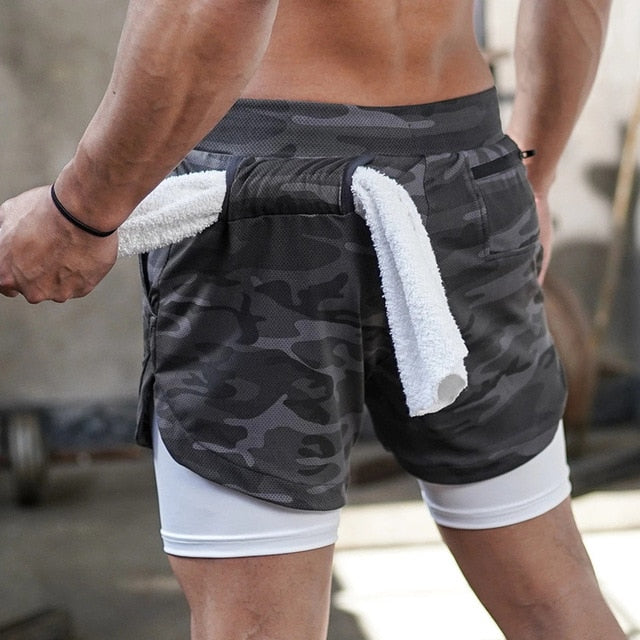 Bodybuilding training quick-drying shorts
