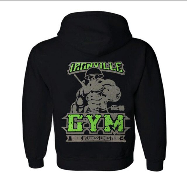 Fitness Wolf hoodie