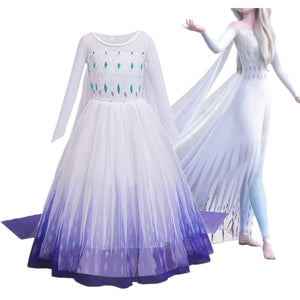 Fancy Cosplay Girls Princess Dress