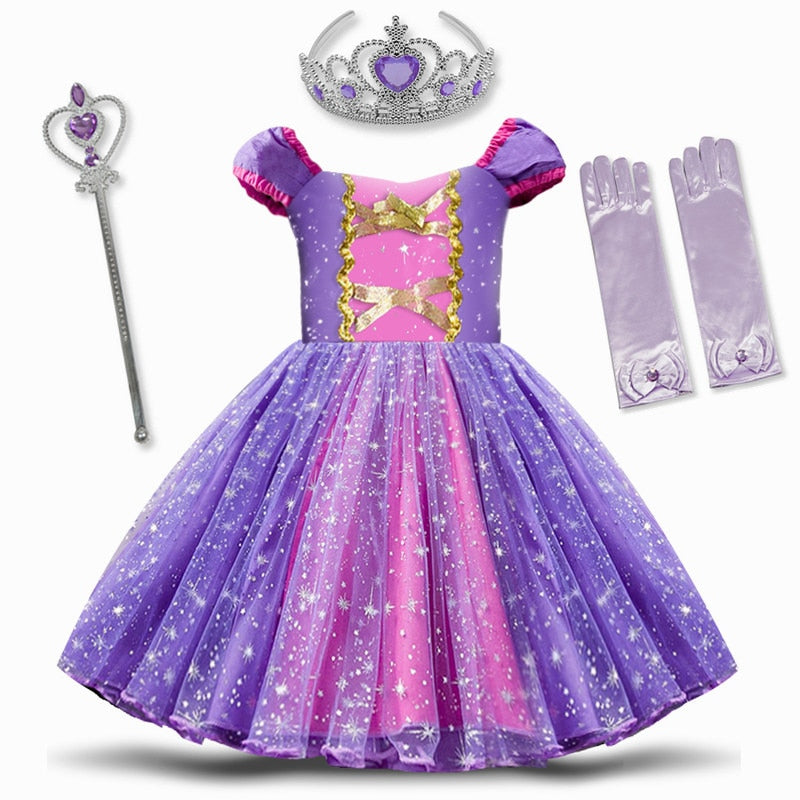 Infant Baby Girls Princess Costume