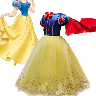 Fancy Yellow Princess Dress