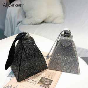 Diamonds Evening Clutch Bags