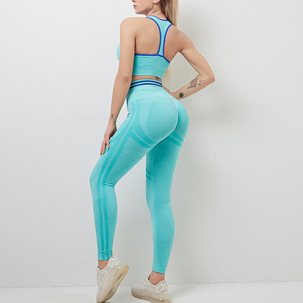 Leggings And Top Women Sportwear