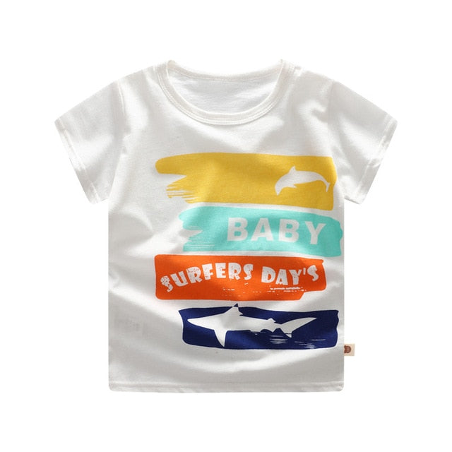 Cotton Spaceship Children T shirts