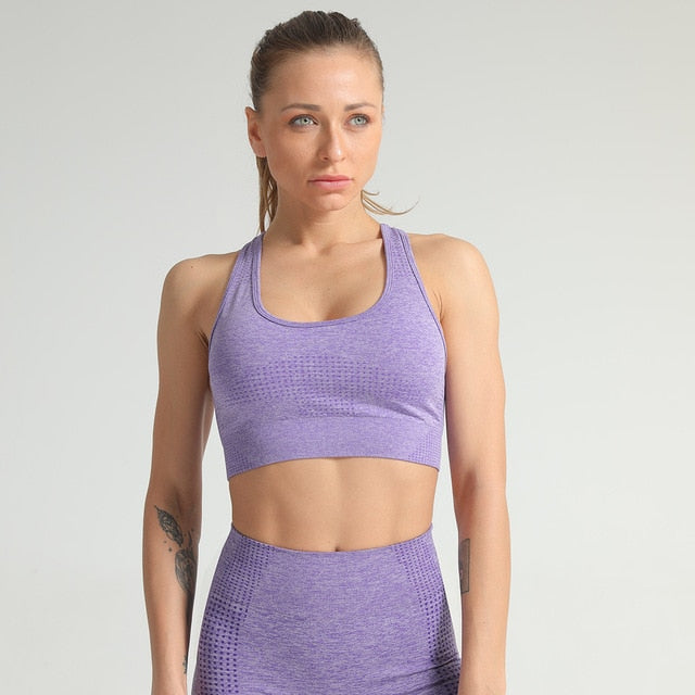 Women Breathable Sports Bra