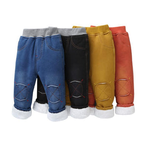 Warm pants Kids Cartoon Pant