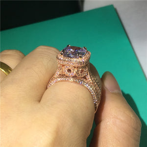 Vintage 18K Rose Gold Ring