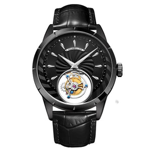 Men Skeleton Watch Mechanical  Top Brand