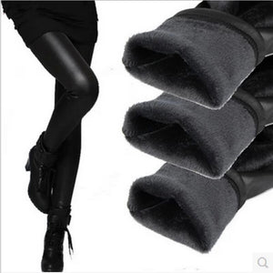 Women Velvet Warm Leggings Autumn and Winter