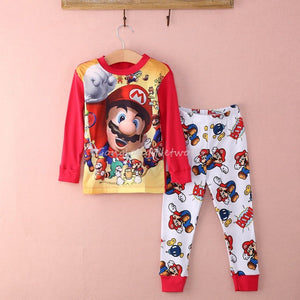 super mario boys baby kids sleepwear