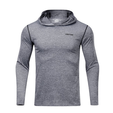 Men's Fitness Hoodie Shirts