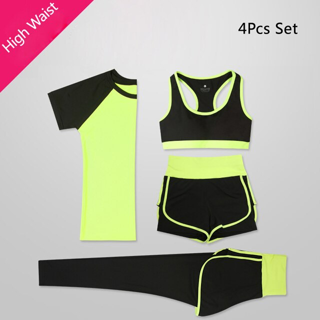 Women 5 Piece Fitness wear