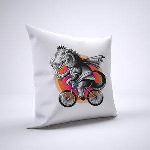 Alligator Pillow Cover Case 20in x 20in - Animals On Bike Pillows