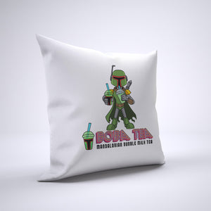 Boba Tea Pillow Cover Case 20in x 20in - Funny Pillows