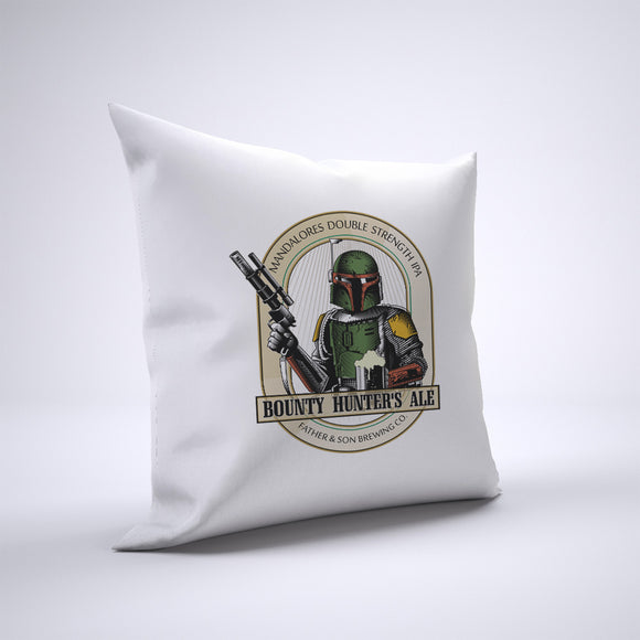 Bounty Hunter Ale Pillow Cover Case 20in x 20in - Funny Pillows