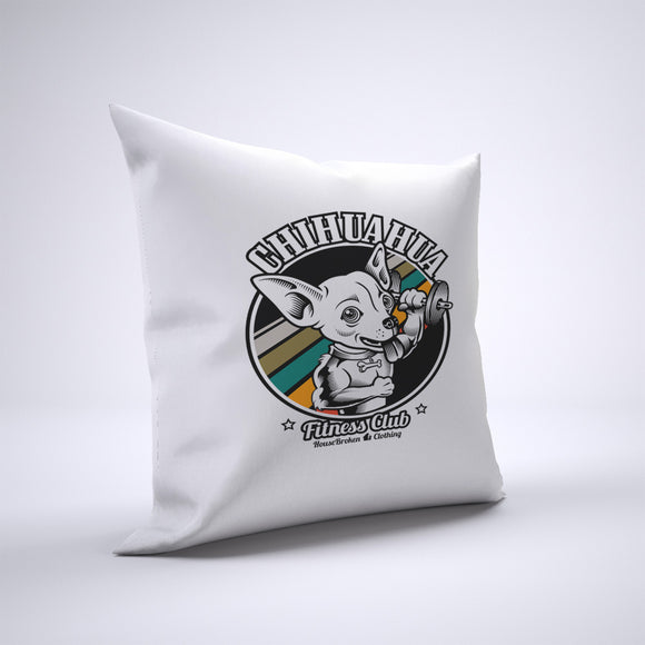 Chihuahua Pillow Cover Case 20in x 20in - Gym Pillows