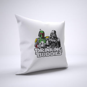 Vader And Boba Fett Pillow Cover Case 20in x 20in - Funny Pillows