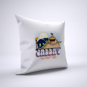 Jabba The Tiki Hut Pillow Cover Case 20in x 20in - Funny Pillows
