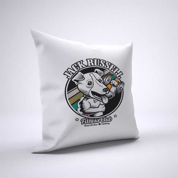 Jack Russell Pillow Cover Case 20in x 20in - Gym Pillows