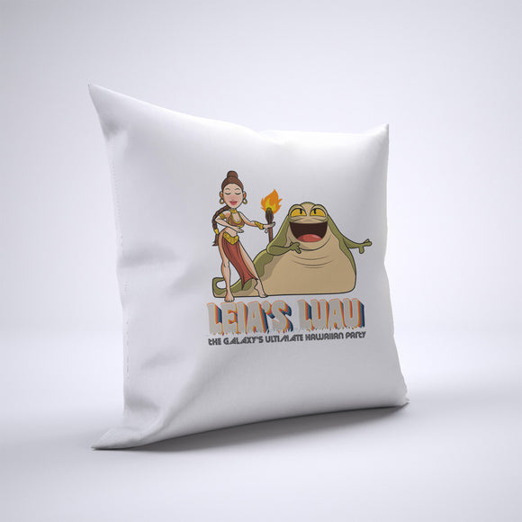 Leia's Luau Pillow Cover Case 20in x 20in - Funny Pillows