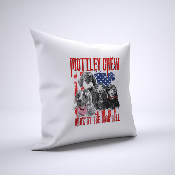 Muttley Chew Pillow Cover Case 20in x 20in - Funny Pillows