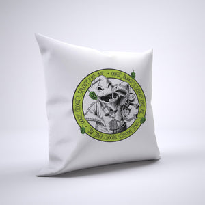 Oogie Boogie's Ale Pillow Cover Case 20in x 20in - Funny Pillows