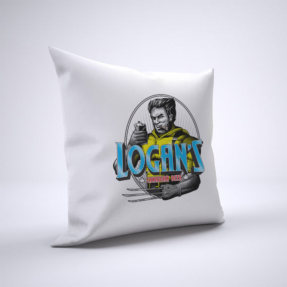 Wolverine Beer Pillow Cover Case 20in x 20in - Funny Pillows