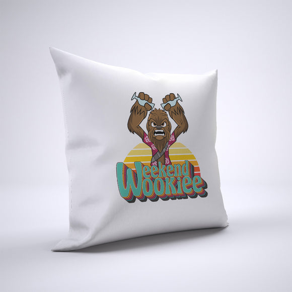 Wookiee Weekend Pillow Cover Case 20in x 20in - Funny Pillows