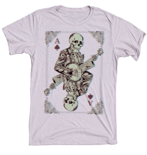 Skeleton Playing Banjo Shirt