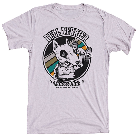 Bull Terrier Dog Shirt for the Gym