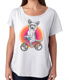 Corgi On Bike Dog Shirt