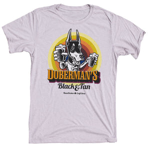 Doberman Craft Beer Dog Shirt
