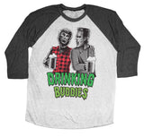 Drinking Buddies Wolfman And Frankenstein Shirt