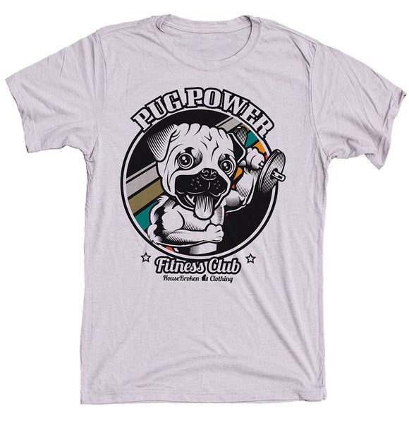 Pug Dog Shirt for the Gym