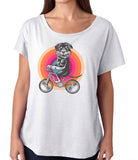 Rottweiler On Bike Dog Shirt