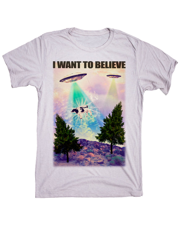 UFO I Want To Believe Shirt