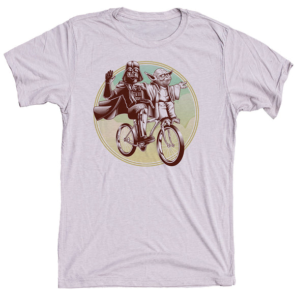 Yoda And Vader Bicycle Shirt