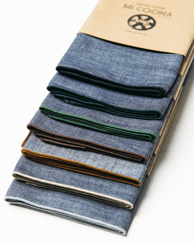 CHAMBRAY NAPKIN The Sea Ranch inspired collection