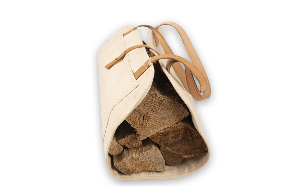 THE LOG BAG - NATURAL / VACHETTA
