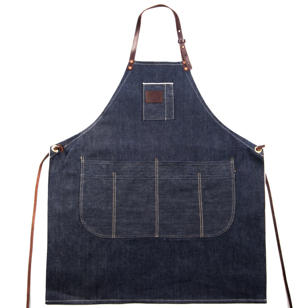 THE SELVEDGE DENIM & LEATHER APRON