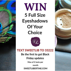 Win 5 Full Eyeshadows of Your Choice!