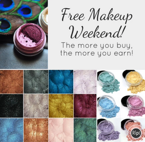Free Makeup Weekend! Ends July 16th