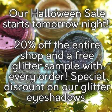 Halloween Sale Starts Tomorrow! - Sweet Libertine Mineral