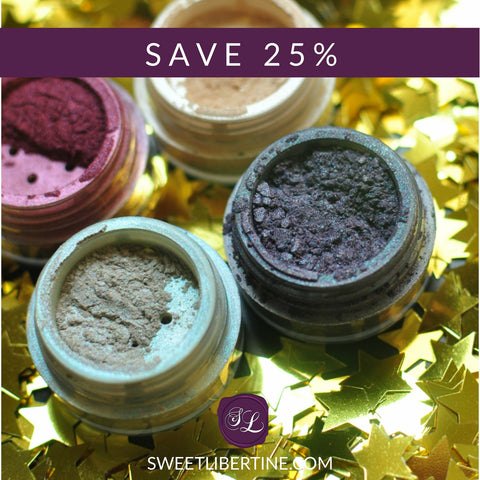 Sweet Libertine Mineral Cosmetics Newsletter